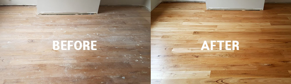 floor sanidng polishing BEFORE AFTER2